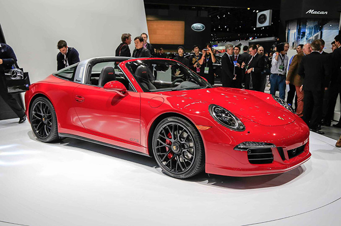 2016 Porsche 911 Targa GTS