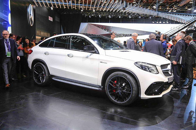 2016 Mercedes-Benz GLE63 S Coupe 4Matic